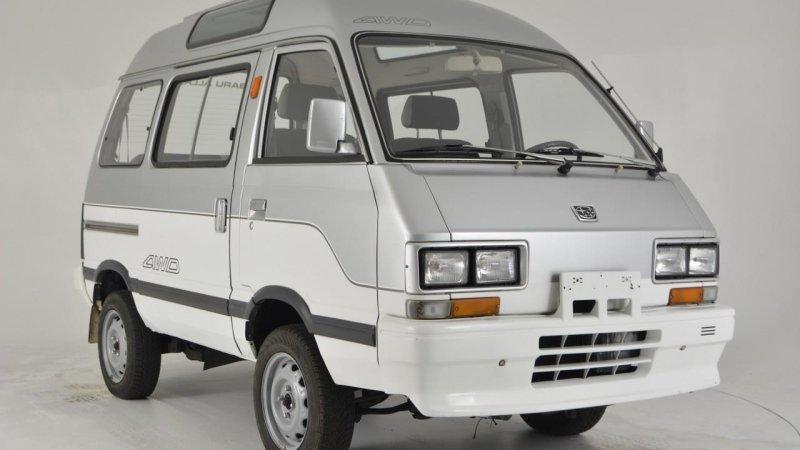 1992 Subaru Libero Japanese van on eBay Motors