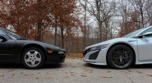 2019 Acura NSX vs. 1991 Acura NSX | Performance, handling and technology