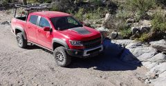 2019 Chevy Colorado ZR2 Bison Tray Bed Concept revealed by AEV