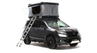 2019 Honda Passport, Ridgeline get modified for off-road use