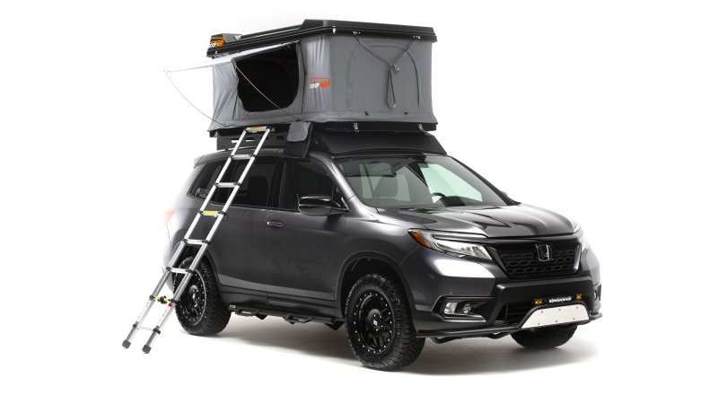 2019 Honda Passport, Ridgeline get modified for off-road use