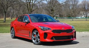 2019 Kia Stinger gets IIHS TSP+ award