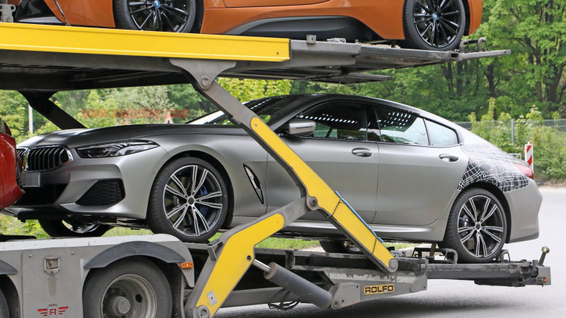 2020 BMW 8 Series Gran Coupe mostly revealed in spy shots