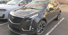 2020 Cadillac XT5 uncovered, interior shows new infotainment