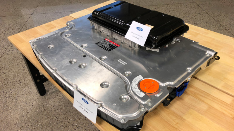 Ford Escape Hybrid batteries