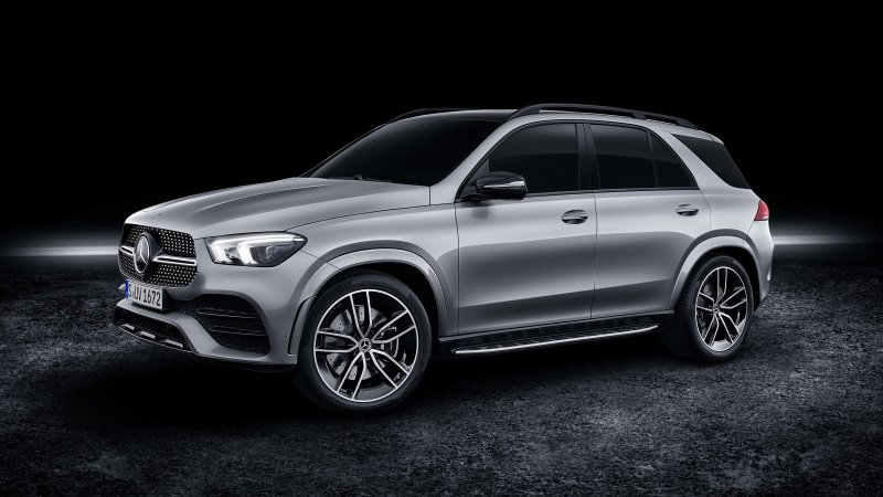 2020 Mercedes-Benz GLE 580 adds a V8 with hybrid assist