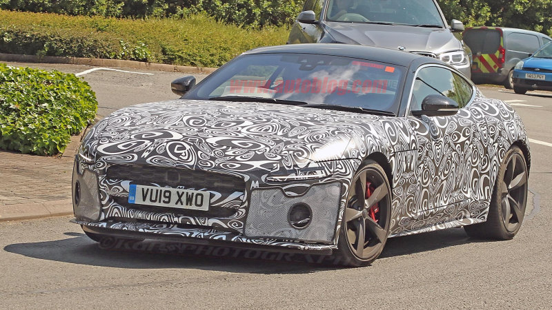 2021 Jaguar F-Type spy photos reveal major facelift