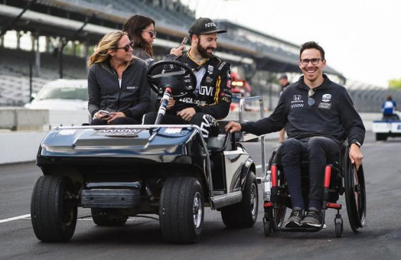 A detailed look into racecar driver Robert Wickens' spinal recovery