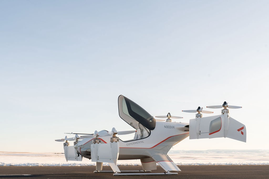 Airbus releases photos of the interior of its flying taxi