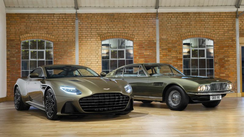 Aston Martin 'On Her Majesty's Secret Service' DBS Superleggera built