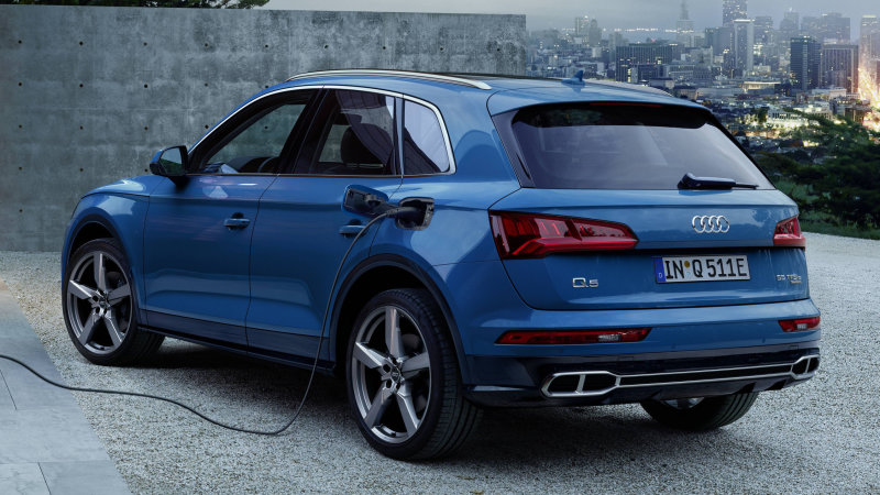 Audi Q5 plug-in hybrid revealed, but America will have to wait