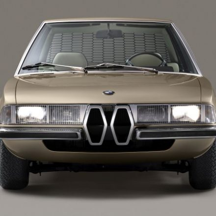 BMW Garmisch concept is a faithful re-creation of the 1970 concept coupe
