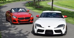 BMW Z4 adds manual transmission, and so could the Supra