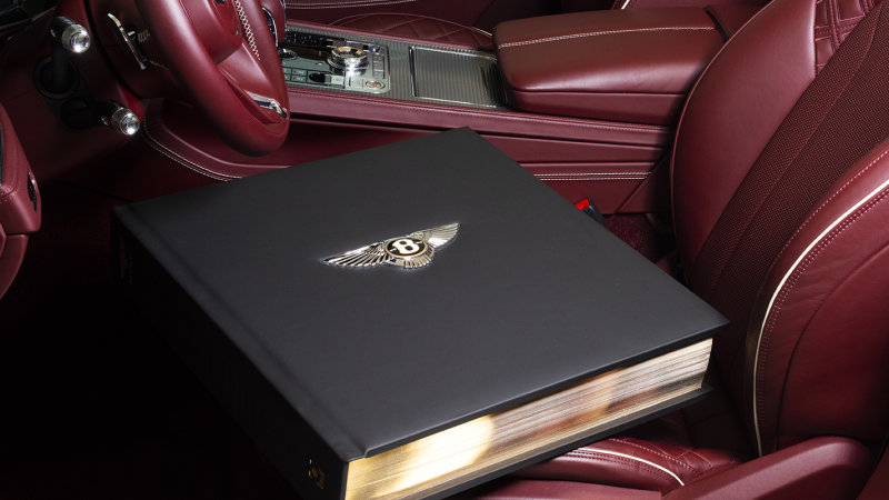 Bentley 100th Anniversary book is expensive and customizable