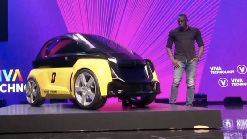 Bolt B-Nano is an electric city car from a Usain Bolt-backed firm