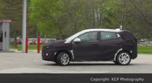 Chevrolet electric crossover spy shots