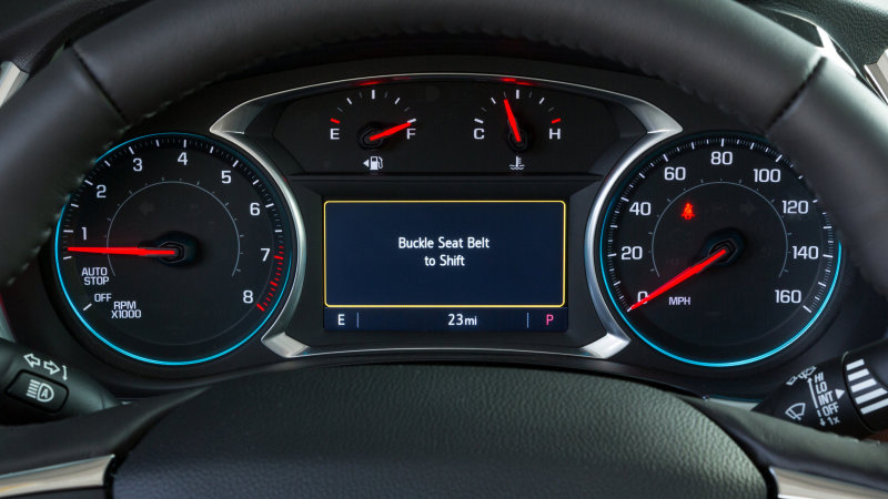 Chevy adds 'Buckle to Drive' feature to Teen Driver System