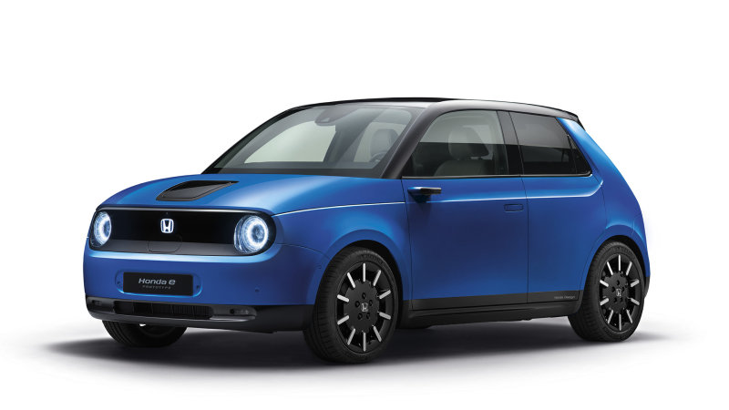 Electric Honda E shows off new colors as reservations open