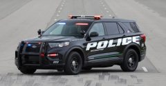 Ford Police Interceptor Utility Hybrid review | Police for a day