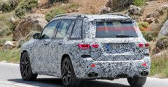 Here's the 2020 Mercedes-AMG GLB 45 in spy shots