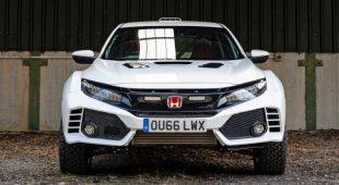 Honda Civic Type R rally car looks like a blast offroad