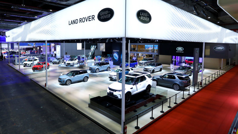 Jaguar Land Rover posts profitable quarter amidst big yearly losses