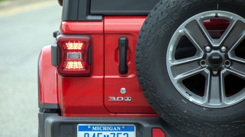 Jeep Wrangler EcoDiesel spied ahead of official production