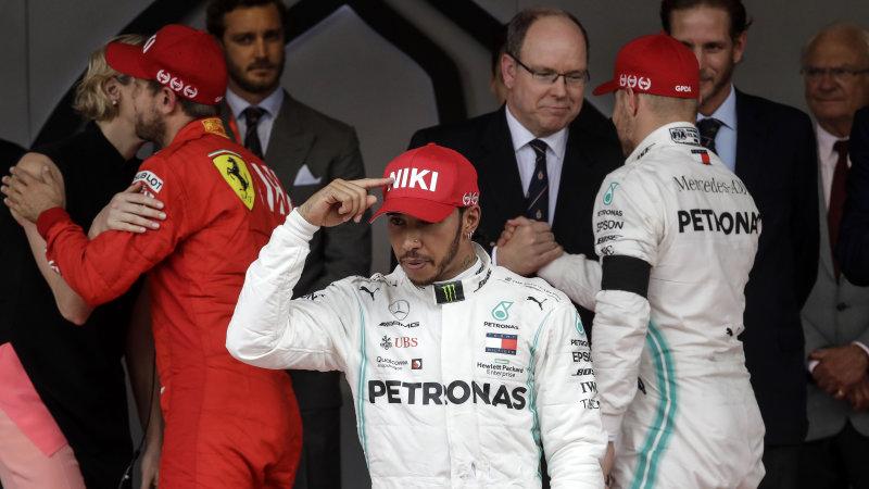 Lewis Hamilton wins tense Monaco Grand Prix