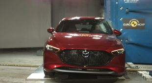 Mazda3 receives top marks among five-star Euro NCAP crash tests