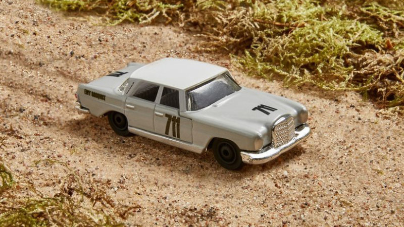 Mercedes, Matchbox create die-cast car to inspire girls
