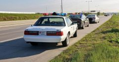 Nebraska State Patrol only drives its 1993 Ford Mustang SSP when it's warm