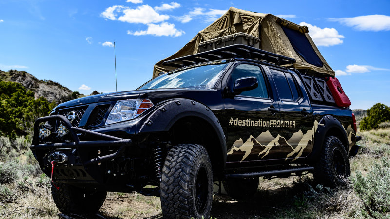 Nissan brings Destination Frontier Concept to Overland Expo West
