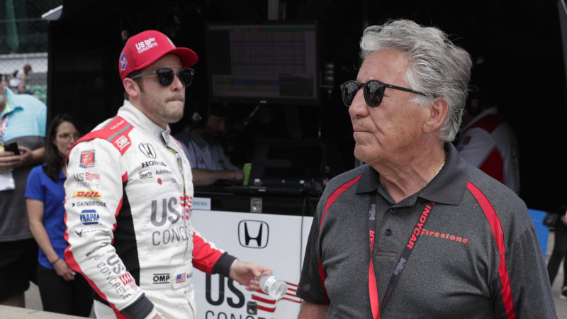 Over 50 years and 3 generations, the Andrettis have 1 Indy 500 win