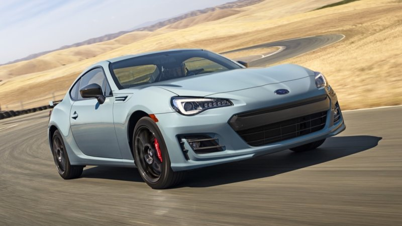 Subaru BRZ has higher manual take rate than Toyota 86