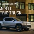 The Rivian R1T gets a camp kitchen and shows up at Overland West