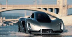 This 3D printed hypercar is the first of its kind