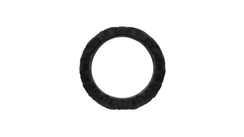 This sheepskin steering wheel cover will keep your hands comfy for just $6