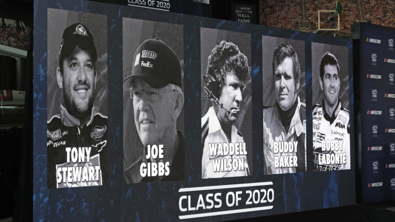 Tony Stewart, Joe Gibbs will join NASCAR Hall of Fame