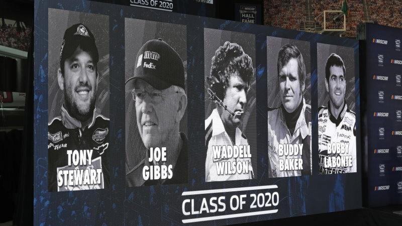Tony Stewart, Joe Gibbs will join NASCAR Hall of Fame
