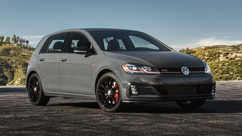 VW GTI, Golf R and Sportwagen have high manual take rates