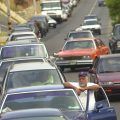 Venezuela gas lines stretch a mile long